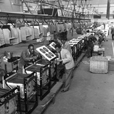 Immigrant Workers on the Cooker Production Line at the Gec, Swinton, South Yorkshire, 1962 Photographic Print by Michael Walters