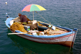 Fishing Boat, Sami, Kefalonia, Greece Photographic Print by Peter Thompson