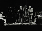 The Jj Johnson Quintet Performing at the Hertfordshire Jazz Festival, St Albans Arena, 4 May 1993 Photographic Print by Denis Williams