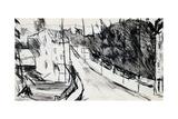 Street of Suburbs, C1900-1944 Reproduction procédé giclée par Max Jacob