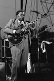 B.B. King, Capital Jazz, Knebworth, 1982 Reproduction photographique par Brian O'Connor