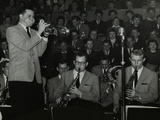 The Stan Kenton Orchestra in Concert, 1956 Photographic Print by Denis Williams