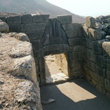 The Lion Gate at Mycenae, 13th Century Bc Photographic Print by CM Dixon