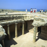Tombs of the Kings, Paphos, Cyprus Photographic Print by Peter Thompson