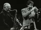 The Ronnie Scott Quintet at the Forum Theatre, Hatfield, Hertfordshire, 29 November 1985 Photographic Print by Denis Williams