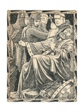 The Death of King John, 1902 Giclee Print by Patten Wilson