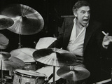 Buddy Rich in Concert at the Forum Theatre, Hatfield, Hertfordshire, March 1980 Photographic Print by Denis Williams