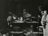 John Horler, Tony Kinsey, Alec Dankworth and John Dankworth Performing in London, 1985 Photographic Print by Denis Williams