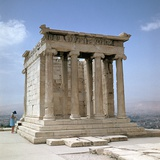 Temple of Athene Nike on the Acropolis, 5th Century Bc Photographic Print by CM Dixon
