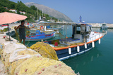Poros, Kefalonia, Greece Photographic Print by Peter Thompson