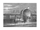 Alcove on the Old Westminster Bridge, 1897 Giclee Print by Edward Walford