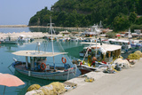 Harbour of Poros, Kefalonia, Greece Photographic Print by Peter Thompson