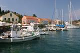 Fiskardo Harbour, Kefalonia, Greece Photographic Print by Peter Thompson