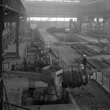 Overview of the Bar Mill at the Brightside Foundry, Sheffield, South Yorkshire, 1964 Photographic Print by Michael Walters
