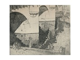The Pont Neuf, 1915 Giclee Print by William A Levy