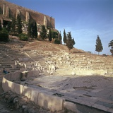 Shot of the Theatre of Dionysus in Athens, 5th Century Bc Photographic Print by CM Dixon