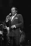Lou Rawls, Royal Albert Hall, 1990 Photographic Print by Brian O'Connor
