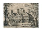 The Oak House, West Bromwich, Staffordshire, 1915 Reproduction procédé giclée par Allen Edward Everitt