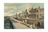 Modern Buildings in Gulf Avenue, Havana, Cuba, C1910 Giclee Print