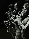 Norma Winstone, Art Themen and Henry Lowther Performing at the Stables, Wavendon, Buckinghamshire Photographic Print by Denis Williams