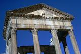 Capitol of Dougga, 2nd Century Stampa fotografica di CM Dixon