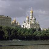 Kremlin Seen across the Moskva River Photographic Print by CM Dixon