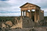 Roman Capitol of Dougga, 2nd Century Stampa fotografica di CM Dixon
