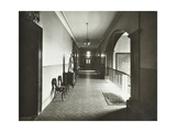 First Floor Corridor, Bethlem Royal Hospital, London, 1926 Photographic Print