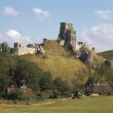 Corfe Castle, 11th Century Photographic Print by  William the Conqueror