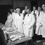 Local Dignitaries During an Open Day at Spillers Foods in Gainsborough, Lincolnshire, 1962 Photographic Print by Michael Walters