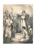 Peter Preaching the First Crusade, 1869 Giclee Print