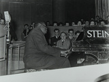 Oscar Peterson in Concert at Colston Hall, Bristol, 1955 Photographic Print by Denis Williams