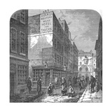 The Old Bedford Head, 1897 Giclee Print by B Fleming