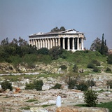 Temple of Hephaestus in the Agora in Athens Photographic Print by CM Dixon
