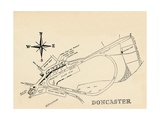 Doncaster Race Course, 1940 Giclee Print