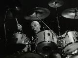 Drummer Eric Delaney Playing at the Forum Theatre, Hatfield, Hertfordshire, 6 May 1983 Fotoprint van Denis Williams