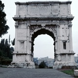 Arch of the Emperor Titus, 1st Century Photographic Print by CM Dixon