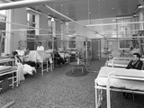 Patients on a Mens Surgical Ward, Montague Hospital, Mexborough, South Yorkshire, 1968 Photographic Print by Michael Walters