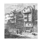 Butchers Row, 1800 Giclee Print
