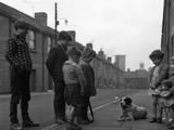A Street Scene in Middlesborough, Teesside, 1964 Photographic Print by Michael Walters