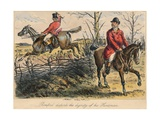 Romford Disturbs the Dignity of His Huntman, 1865 Giclee Print by Bradbury, Evans and Co