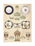 Spode China: Wtcopeland and Sons, Stoke-On-Trent, 18th Century, (1913) Giclee Print