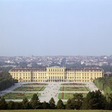Schonbrunn Palace in Vienna, 17th Century Photographic Print by CM Dixon