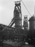 Blast Furnaces, Park Gate Iron and Steel Co, Rotherham, South Yorkshire, 1964 Fotografie-Druck von Michael Walters