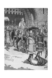 Departure of Bishop Odo from Rochester, 1088 Giclee Print by  HMP