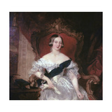Portrait of Queen Victoria, 19th Century Giclee Print by Herbert Luther Smith
