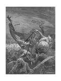Death of King Harold at the Battle of Hastings, 1066 Giclee Print