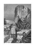 Procession of the Crusaders Round the Walls of Jerusalem, 1099 Giclee Print