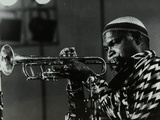 American Trumpeter Ted Curson Playing at the Bracknell Jazz Festival, Berkshire, 1983 Photographic Print by Denis Williams