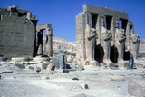 The Ramesseum, Temple of Rameses Ii, Luxor, Egypt Photographic Print by CM Dixon